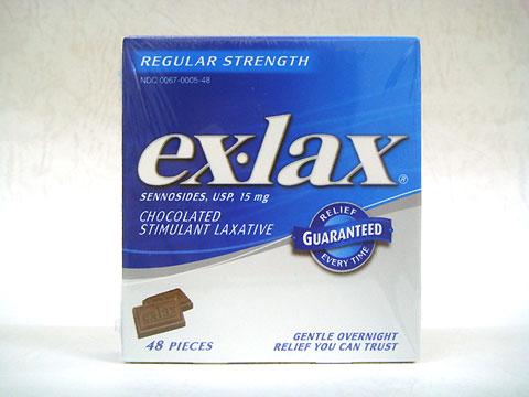 exlaxチョコ(エックスラックスチョコ)