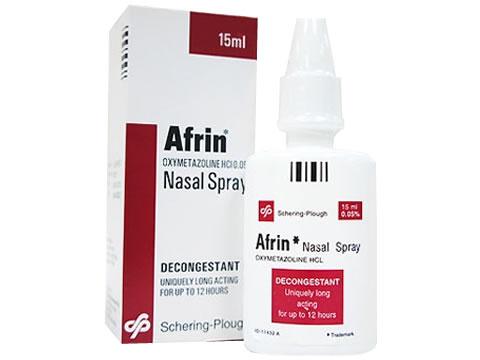 アフリン点鼻薬(AfrinNasalSpray)