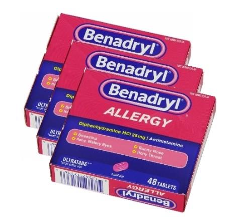 ベナドリル(Benadryl)