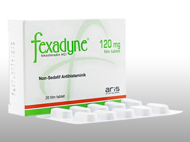 アレグラジェネリック(Fexadyne)120mg