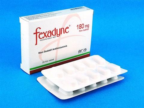 アレグラジェネリック(Fexadyne)180mg