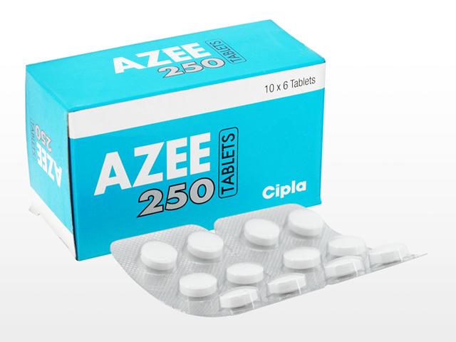 アジスロマイシン250mg(Azee)