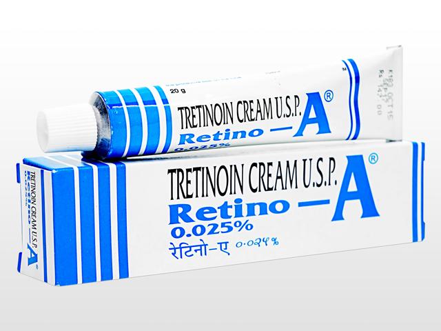 レチンA0.025%クリーム